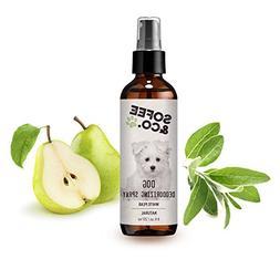 Natural Dog Deodorizing Spray, Freshener - White Pear - Neut
