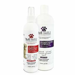 Lillian Ruff Dog Detangler Spray & Dog Whitening Shampoo –