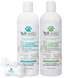 Lillian Ruff Dog Oatmeal Shampoo and Conditioner Set - Laven
