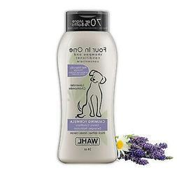 Wahl Dog Pet 100% Natural 4-in-1 Shampoo Conditioner Lavenda