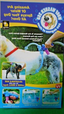 Dog Washer Pet Cleaner Water Spray Sprayer Adjustable Size,