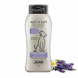 Wahl Dog/Puppy Shampoo 4-in-1 Calming Formula 24 Oz New Fast