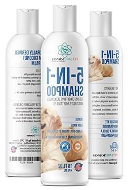 PET CARE Sciences 5 in 1 Dog Puppy Shampoo & Conditioner - C