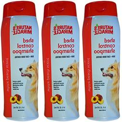Nature's Miracle Dog Shampoo, 16-Ounce, 3 Bottles