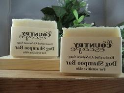 Dog Shampoo Bar -For Sensitive Skin w/ Lavender Essential Oi