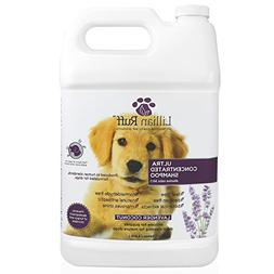 dog shampoo concentrated