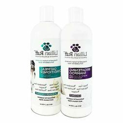 Lillian Ruff Dog Shampoo Conditioner Set - Coconut Brighteni