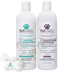 Lillian Ruff Dog Shampoo Conditioner Set - Coconut Brighteni