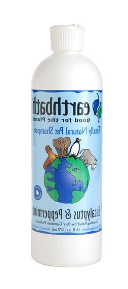 Earthbath Dog Shampoo EUCALYPTUS PEPPERMINT 16 Oz.