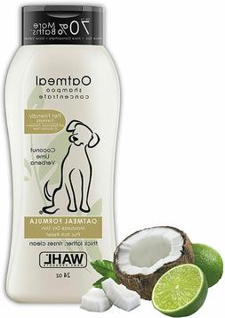 Wahl Dog Shampoo for puppy Cats Oatmeal Dry Skin Itchy Clean