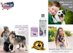 Dog Shampoo Medicated Antiparasitic Hydrating and Anti-Funga