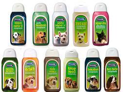 Johnsons Dog shampoo range. 125 ml bottles
