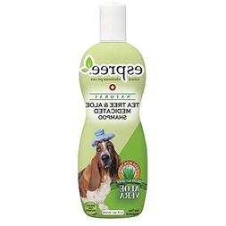 Dog Shampoo Natural Tea Tree & Aloe For Dry Dogs Irritated S