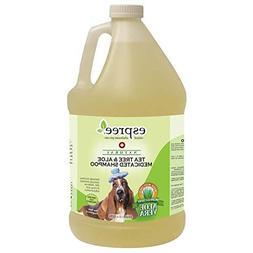 Natural Dog Shampoo Tea Tree and Aloe Medicated Pro Pet Groo