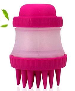 aisa napa, dog washer, pet bathing tool, brush 3 color