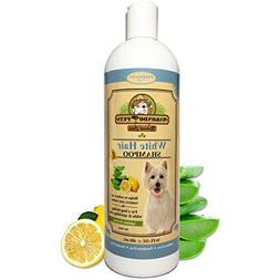 Dog Whitening Shampoo– For Dogs With White/Light Colored H