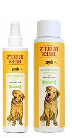 Burt's Bees For Dogs Deodorizing Shampoo & Spray Bundle:  Bu