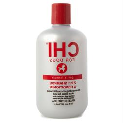 Chi for Dogs Gentle Formula 2 in 1 Shampoo & Conditioner 16