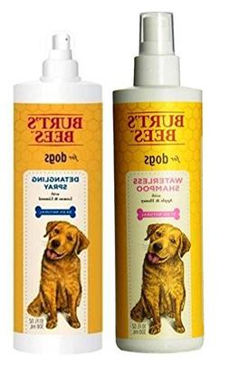 Burt's Bees For Dogs Grooming Bundle:  Burt's Bees Detanglin