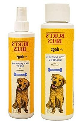 Burt's Bees For Dogs Itch Soothing Shampoo and Spray with Ho