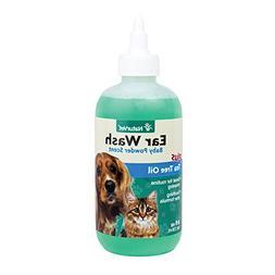 Gentle Pet Ear Wash & Odor Reducing Treatment with Aloe & Te