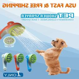 Easy Dog Cat Pet Hair Head Shower Bath Healing Massage Washi