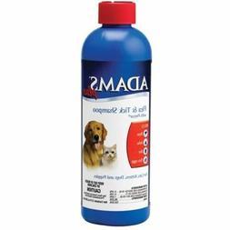Faam/Adams Fea & Tik Shampoo 12oz Dog/Ca Wih Peo