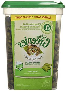 FELINE GREENIES Dental Treats Catnip Flavor 11 Ounces