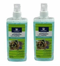 Top Paw, Waterless Dog Shampoo Spray - Lavender Fields Scent