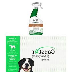 Vet's Best Natural Flea + Tick Home Spray, 32 oz with Capsta