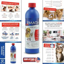 Adams Flea and Tick Shampoo Treatment for Dogs Oatmeal Aloe
