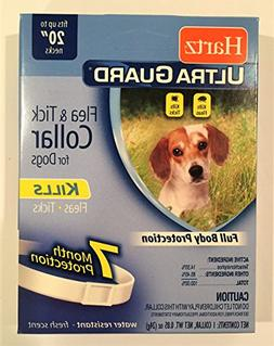 HARTZ Flea Collar for Small Dogs Waterproof 7 Months Protect