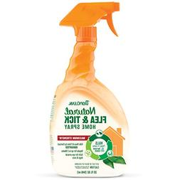 TropiClean Natural Flea and Tick Spray For Home, Safe To Use