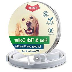 Sentas Flea and tick Prevention for Dogs, Dog flea Collar, f