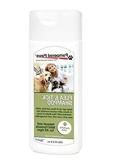 Pampered Paws by Budpak Flea and Tick Shampoo for Pets, 8 Fl