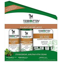 Vet's Best Complete Flea and Tick Protection Kit, 3 Piece Se