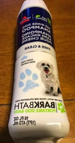BISSELL Free & Clear No Rinse Dog Shampoo for BARKBATH  NEW!