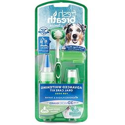 Tropiclean Fresh Breath Advanced Whitening Oral Care Kit for
