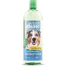 Tropiclean Fresh Breath Advanced Whitening Water Additive, 3