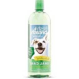 Tropiclean Fresh Breath Plaque Remover Pet Water Additive 33