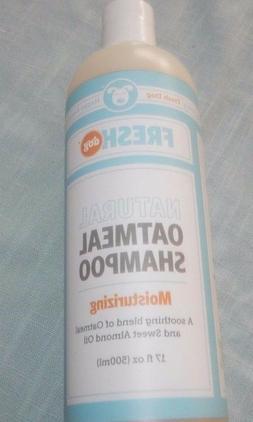 Fresh Dog Natural Oatmeal Shampoo for Dry Skin and Coat, 17-