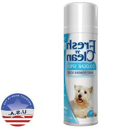 Lambert Kay Fresh 'N Clean Cologne Spray, 12 Oz. Baby Powder