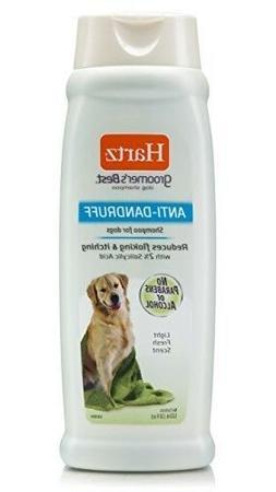 Hartz Groomer's Best Anti-Dandruff Dog Shampoo New Fast Free