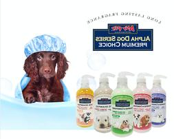 Alpha Dog Series- Grooming Quality All Natural Shampoo + Con