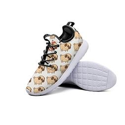 YYuuijk Happy Dog Fashion Women's Gym Shoes Casual Cute Comf