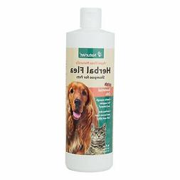 NaturVet Herbal Flea Shampoo-16 Shampoo