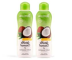 TropiClean Hypo Allergenic Puppy Shampoo 2 Pack, Gentle Coco
