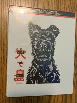 Isle Of Dogs Steelbook Blu-ray + DVD + Digital Limited Editi