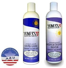 Zymox Itch 12oz Relief Shampoo and 12oz Conditioning Rinse B