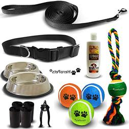 HeroPets Accessories Kit for Small Dogs includes: Small size